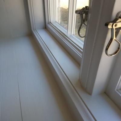 Insida fönster
